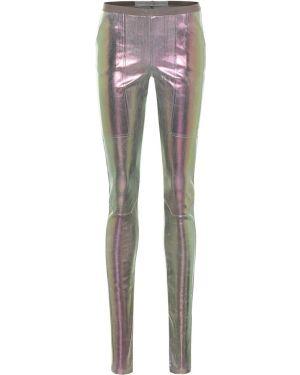 Spodnie elastyczne różowy Rick Owens
