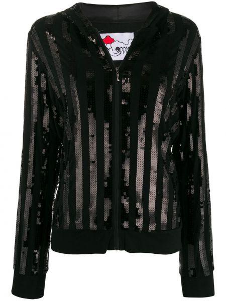 Черная куртка с капюшоном на молнии A.n.g.e.l.o. Vintage Cult