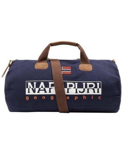 Niebieska torba na ramię bawełniana Napapijri