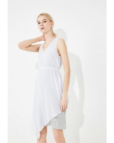 Белое платье Armani Exchange
