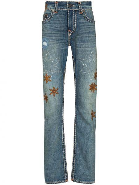 Klasyczne mom jeans - niebieskie True Religion
