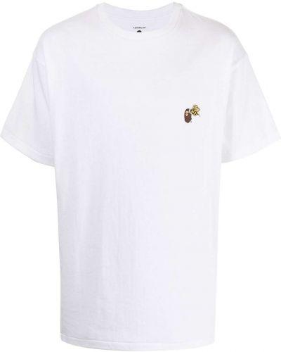 Biała koszulka z printem Readymade