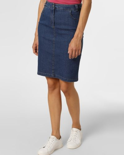 Niebieska spódnica Apriori