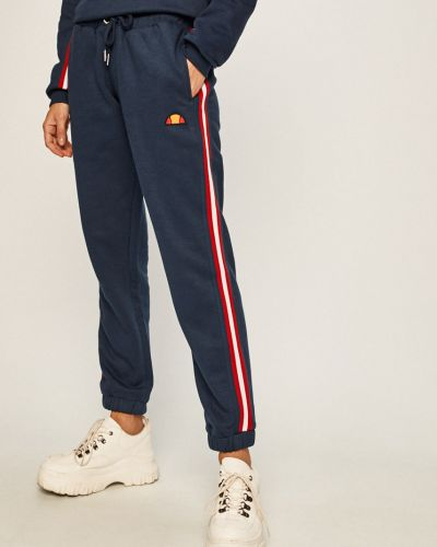 Spodnie z wzorem czerwone Ellesse
