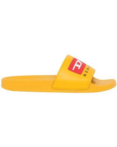Kapcie - żółte Diesel