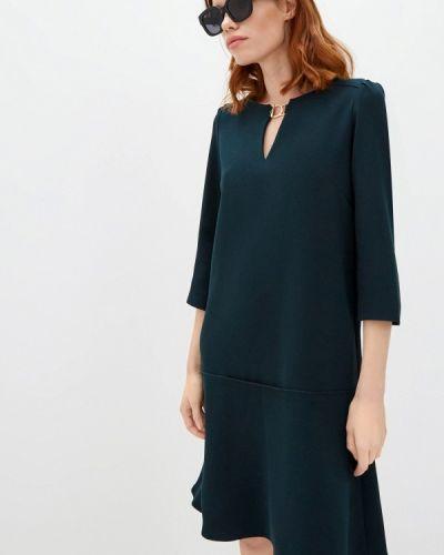 Повседневное зеленое платье Gerard Darel