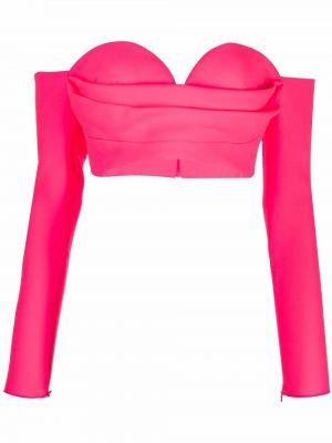 Топ с длинными рукавами - розовый Alex Perry