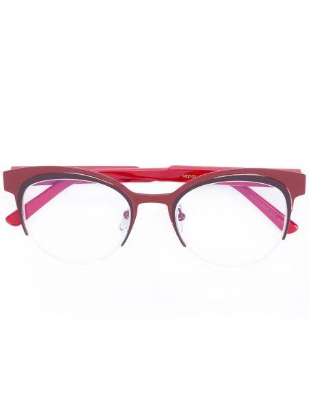 Очки хаки металлические Marni Eyewear
