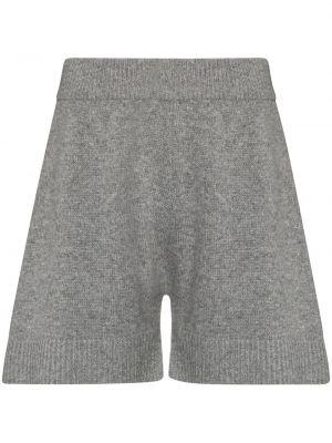 Серые вязаные шорты Frankie Shop
