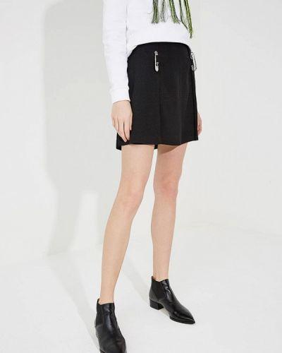 Юбка черная Versus Versace