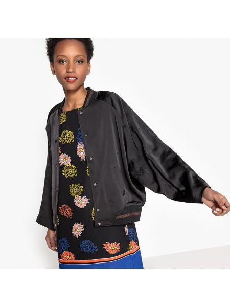 Укороченная куртка с воротником стойкой летучая мышь La Redoute Collections