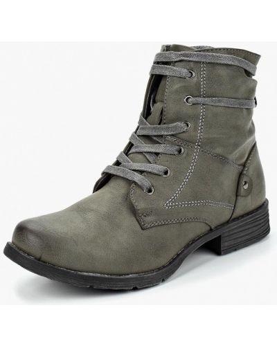 Кожаные ботинки осенние кожаные Topway