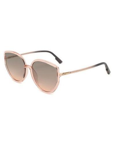 Комбинированные розовые солнцезащитные очки Dior