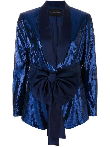 Синий пиджак Christian Pellizzari