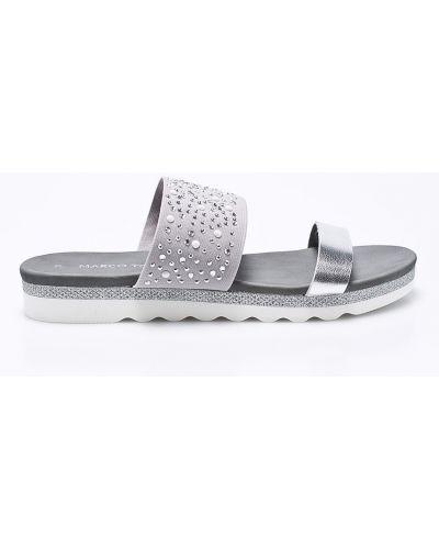 Серые сандалии Marco Tozzi