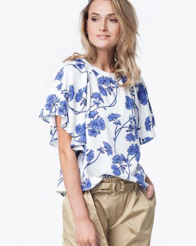 Белая блузка Vilatte
