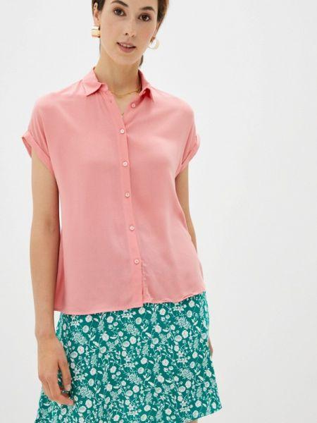 Розовая рубашка с коротким рукавом с короткими рукавами Defacto