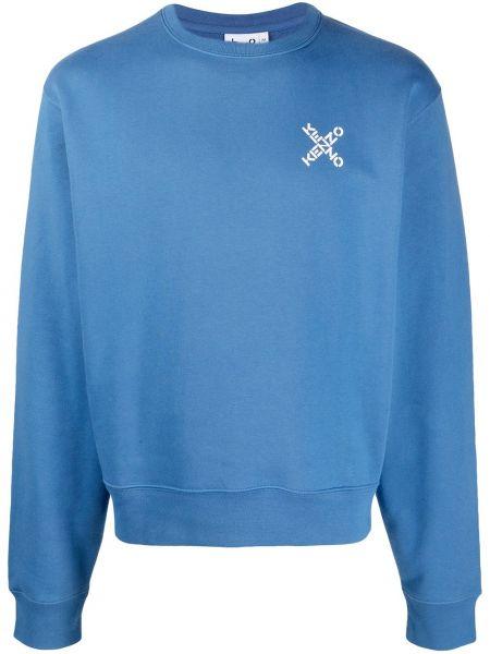 Bawełna z rękawami bawełna bluza z mankietami Kenzo