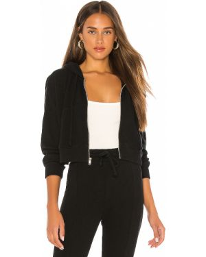 Bluza kangurka - czarna Wildfox Couture