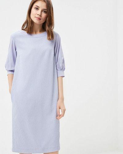Фиолетовое вязаное платье Helmidge