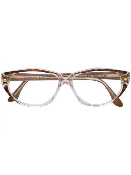 Oprawka do okularów - brązowe Givenchy Pre-owned