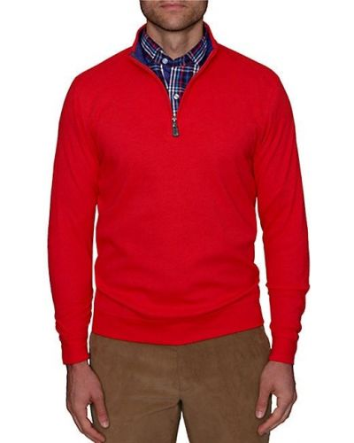 Хлопковый мягкий розовый длинный свитер Tailorbyrd