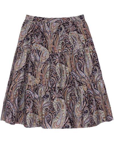 Хлопковая юбка - черная Bonpoint