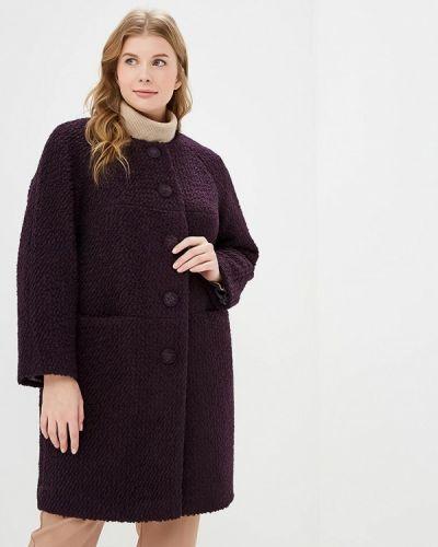 Пальто демисезонное бордовый Zar Style