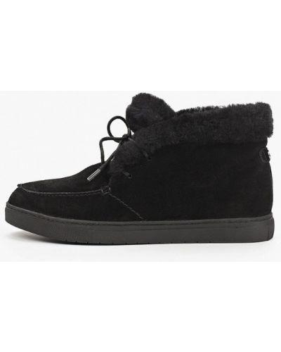 Высокие ботинки - черные Tamaris