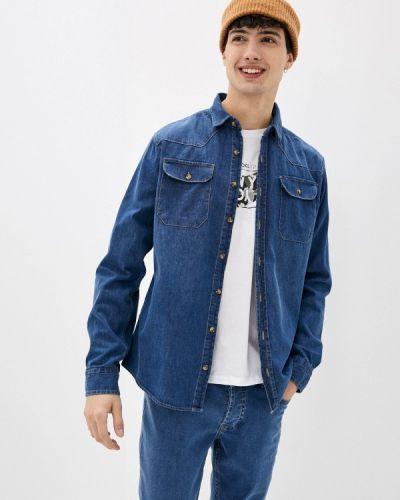 Синяя джинсовая рубашка Defacto