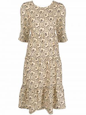 Платье с короткими рукавами Ba&sh