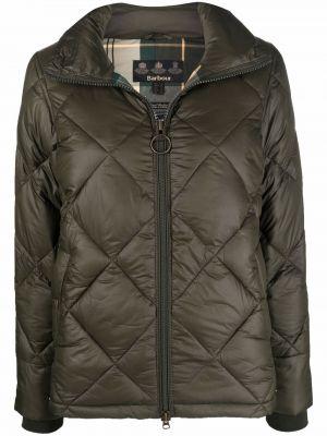 Зеленая куртка на шпильке Barbour