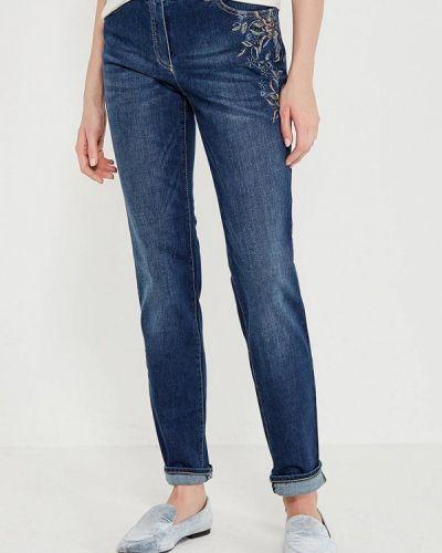 Синие джинсы-скинни Gerry Weber