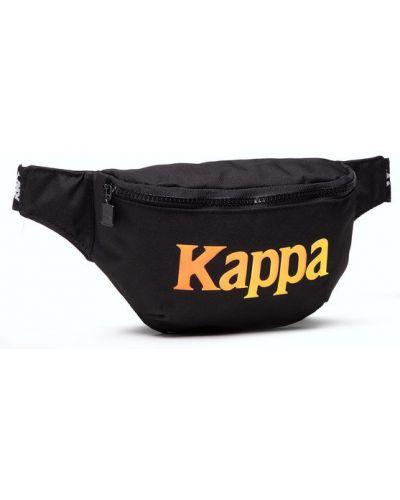 Czarna saszetka Kappa