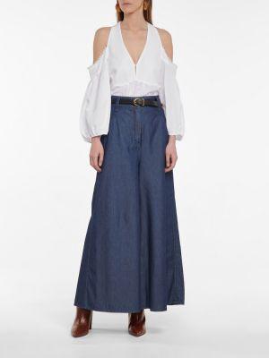 Biała bluzka bawełniana Dorothee Schumacher