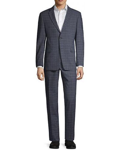 Открытый шерстяной костюм с длинными рукавами Tommy Hilfiger