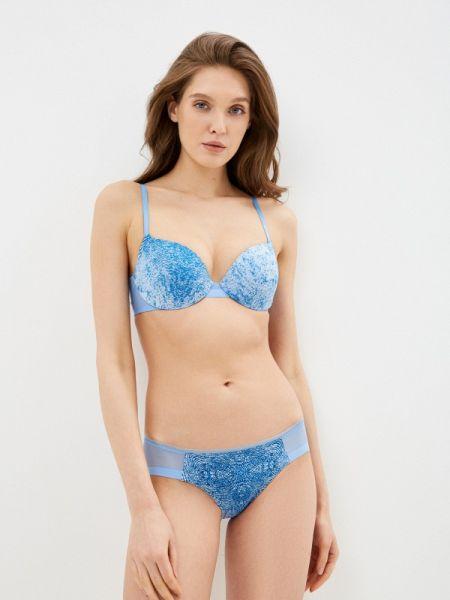 Бюстгальтер синий Calvin Klein Underwear