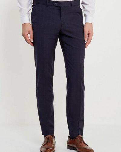 Синие зауженные брюки Bazioni