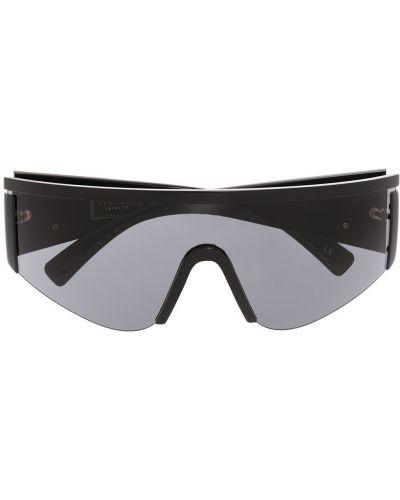 Черные солнцезащитные очки Versace Eyewear