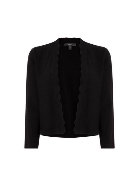 Czarny bolerko bez zapięcia z wiskozy Esprit Collection