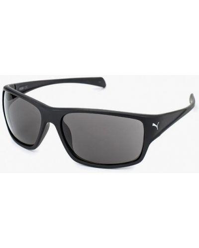 Черные солнцезащитные очки квадратные Puma