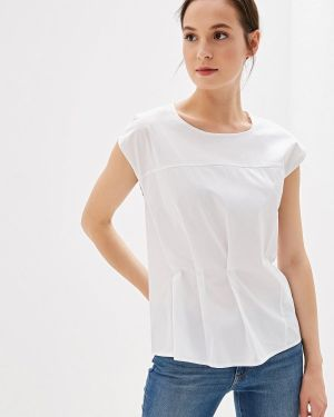 Блузка с коротким рукавом белая весенний Madeleine