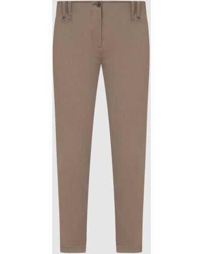 Повседневные бежевые брюки Plein Sud