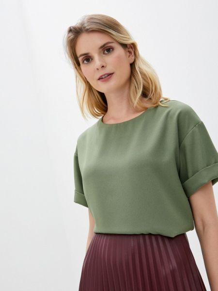 Зеленая блузка с коротким рукавом Irma Dressy