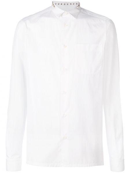 Koszula z długim rękawem klasyczna chudy Valentino