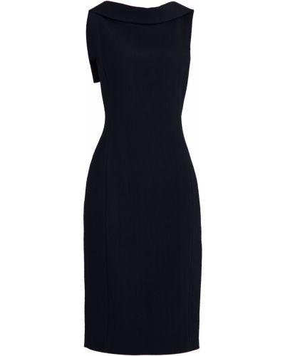 Платье миди облегающее с отложным воротником Michael Kors