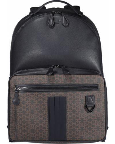 Czarny plecak Bally