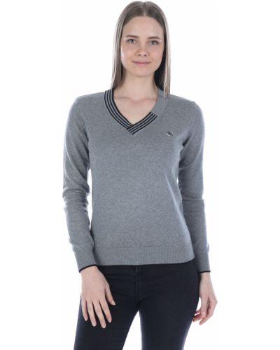 Серый пуловер Felix Hardy