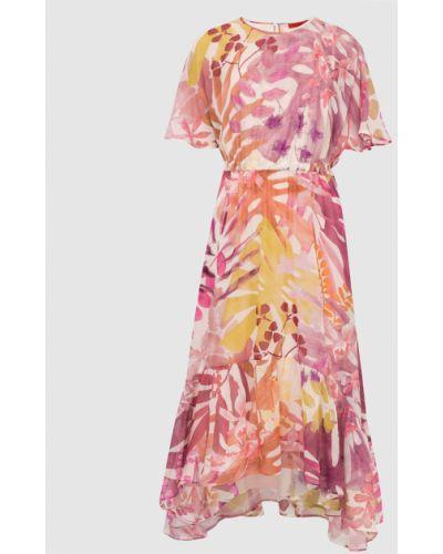 Шелковое платье миди Max & Co