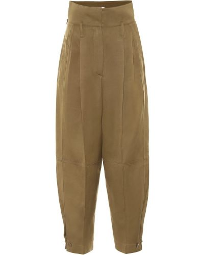 Spodnie z wiskozy bezpłatne cięcie Givenchy